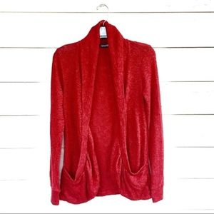 🔴 F21 KNITTED COZY CARDIGAN